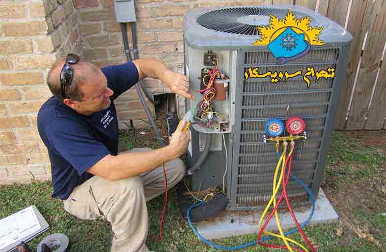 آموزش شارژ گاز کولرگازی با گاز R22, شارژ گاز کولرگازی, گاز r22