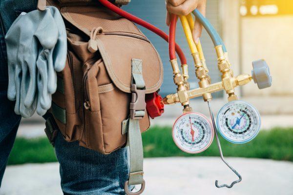 شارژ گاز کولرگازی پرتابل